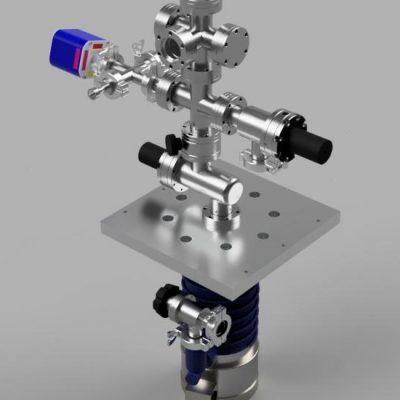 "2.75"" conflat based multipurpose high vacuum system preliminary design V2"