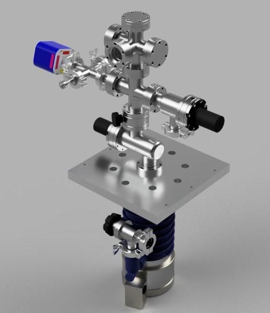"""2.75"""" conflat based multipurpose high vacuum system design V2"""