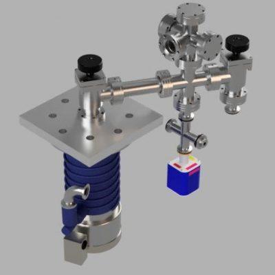 "2.75"" conflat-based multipurpose high vacuum system preliminary design V1"