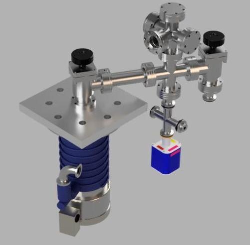"""2.75"""" conflat-based multipurpose high vacuum system design V1"""