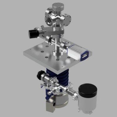 "2.75"" conflat based multipurpose high vacuum system preliminary design V3"