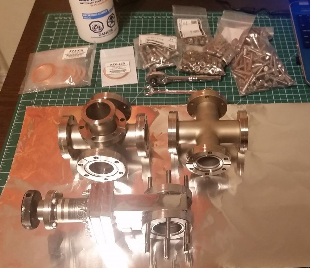 High Vacuum System V4 Build Pic 1