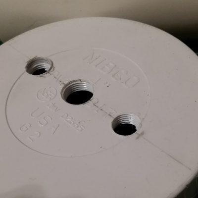 Primary PVC Tank Cap Tapped