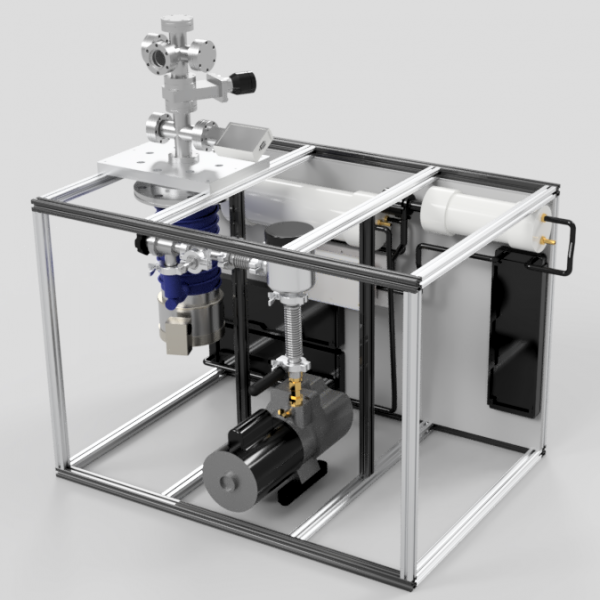 System V4 Dual Purpose Table Assembly - V4 Chamber with Cooling System