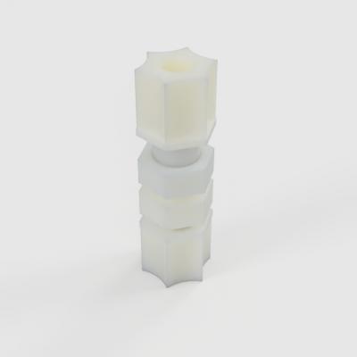 "Jaco 1/4"" Bulkhead Fitting - Assembly"