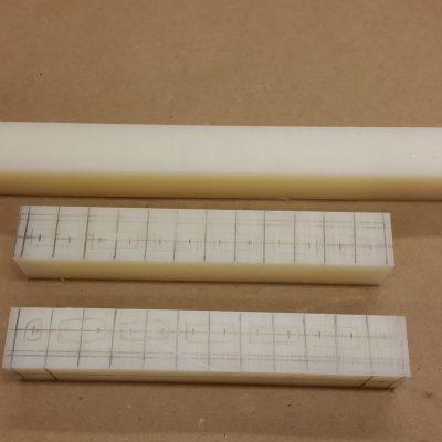 Peltier Chiller Step 17 - Cutting the Manifold