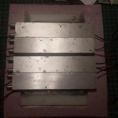 Peltier Chiller Step 34 - Inserting Chiller Block