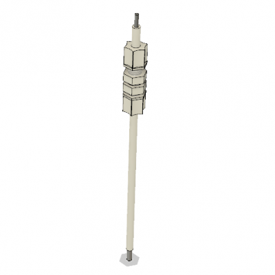 Tank Thermocouple Adapter Assembly Full View