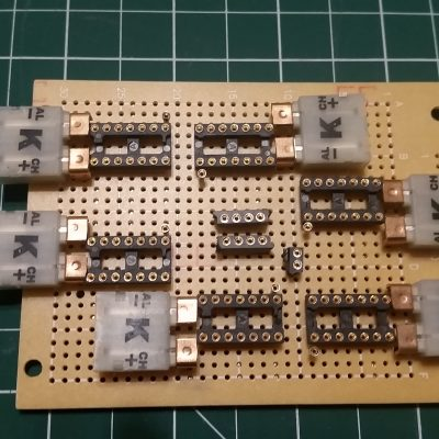 6-Channel K-Type Thermocouple Board - Front