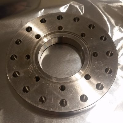 """6"""" to 4,5"""" Conflat Zero Clearance Reducer"""