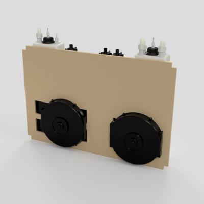 Closed Loop Peltier Chiller System Full Assembly - Back
