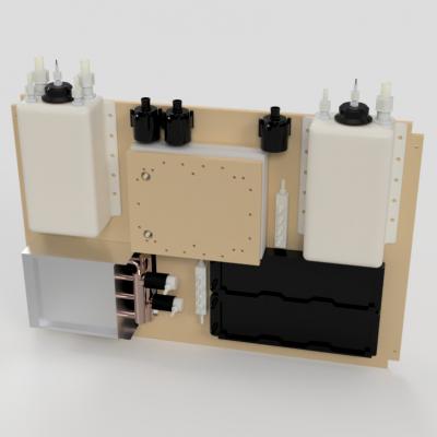 Closed Loop Peltier Chiller System Full Assembly - Front