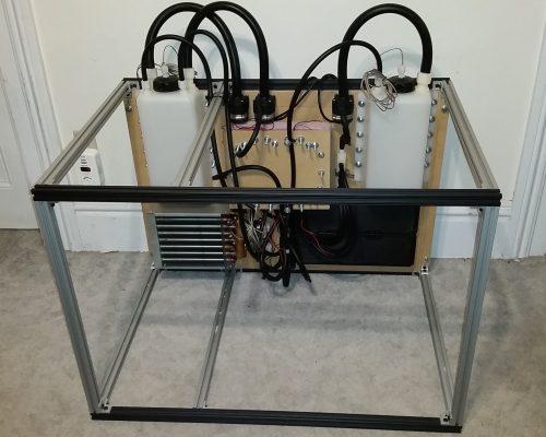 Completed Peltier Chiller Cooling System 1