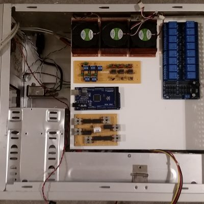 Control System Electronics Placement