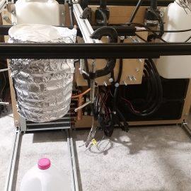 Peltier Chiller Test - Mounting the Coil 2