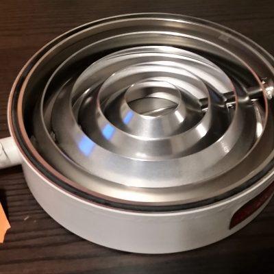 "8"" Water Cooled High Vacuum Diffusion Pump Baffle"