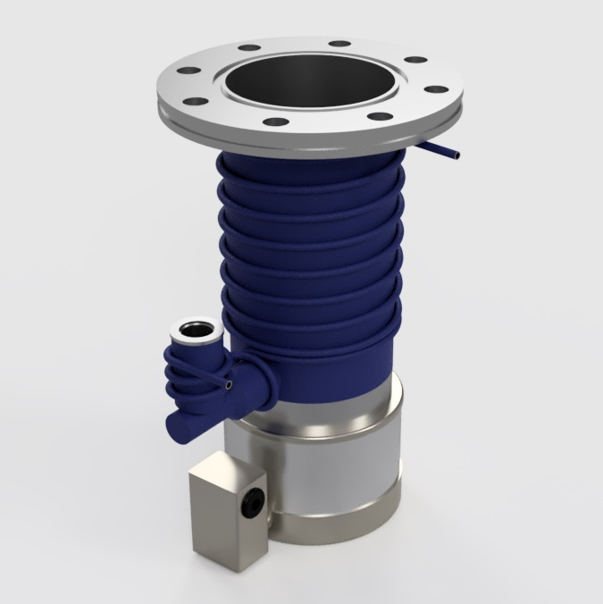 Edwards EO4 Diffusion Pump - Final Model