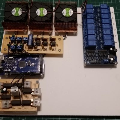 Mounted Control System Boards