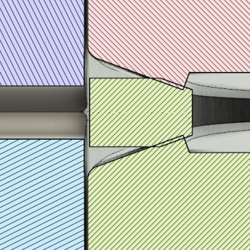 Redesign Considerations for a High Vacuum Adapter Plate