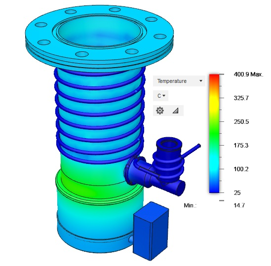 Edwards EO4 Diffusion Pump Thermal Analysis Updated