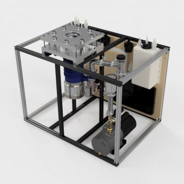 Integrated High Vacuum Test Stand Assembly