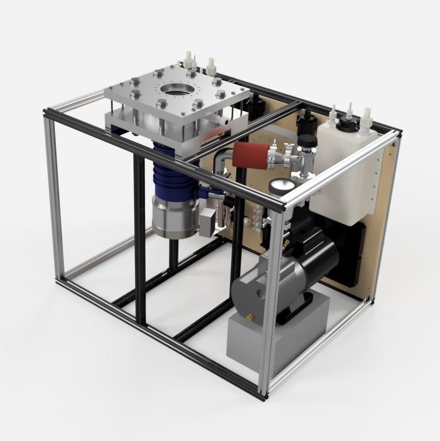 Integrated High Vacuum Test Stand Final Assembly