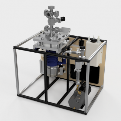 Small Scale Multipurpose High Vacuum System V5 Assembly