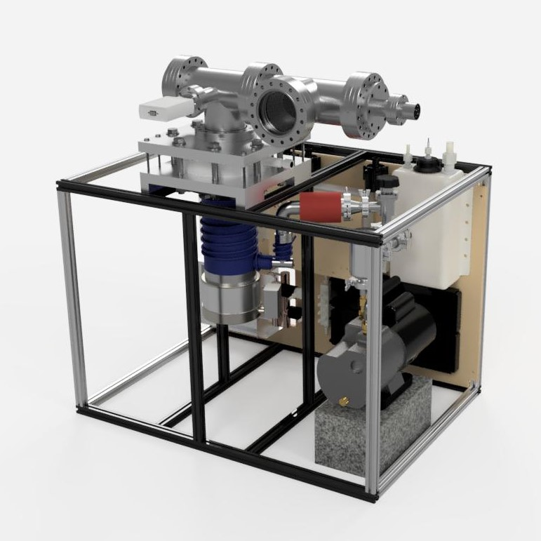 Micro Propulsion Test Chamber Full System Final Assembly