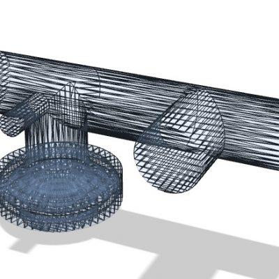 Micro Propulsion Test Chamber STL Mesh