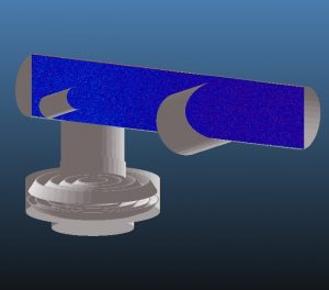 Micro Propulsion Test Chamber - Unbaked Pumped 1hr Pressure Profile Facet