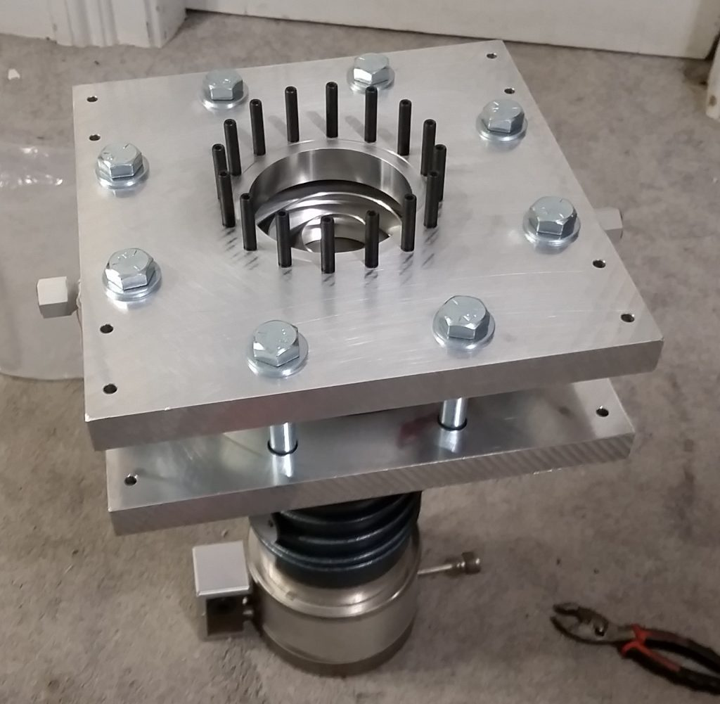 High Vacuum Pumping Stack Pre-Assembly Check 6