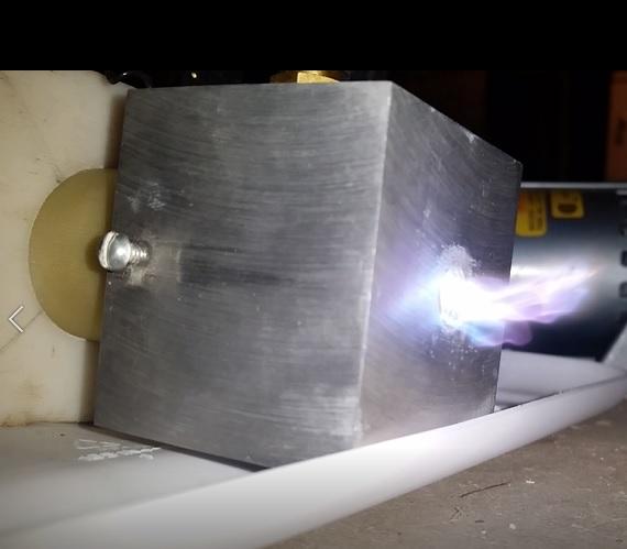 Vortex Stabilized Gliding Arc Discharge - Plasma Discharge