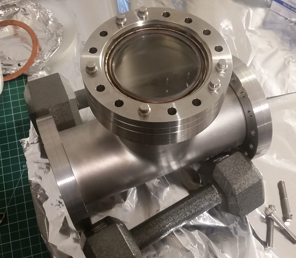 Micro Propulsion Testing Chamber Assembly 1