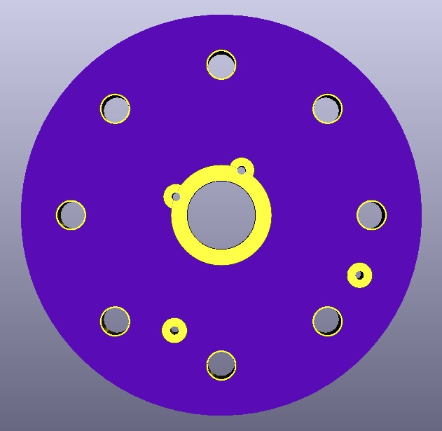 AIS-uPPT1 - Anode Socket Board Top