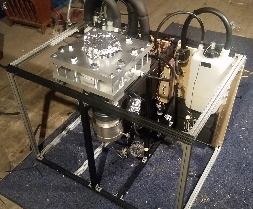 Integrated High Vacuum Test Stand Final Assembly 1