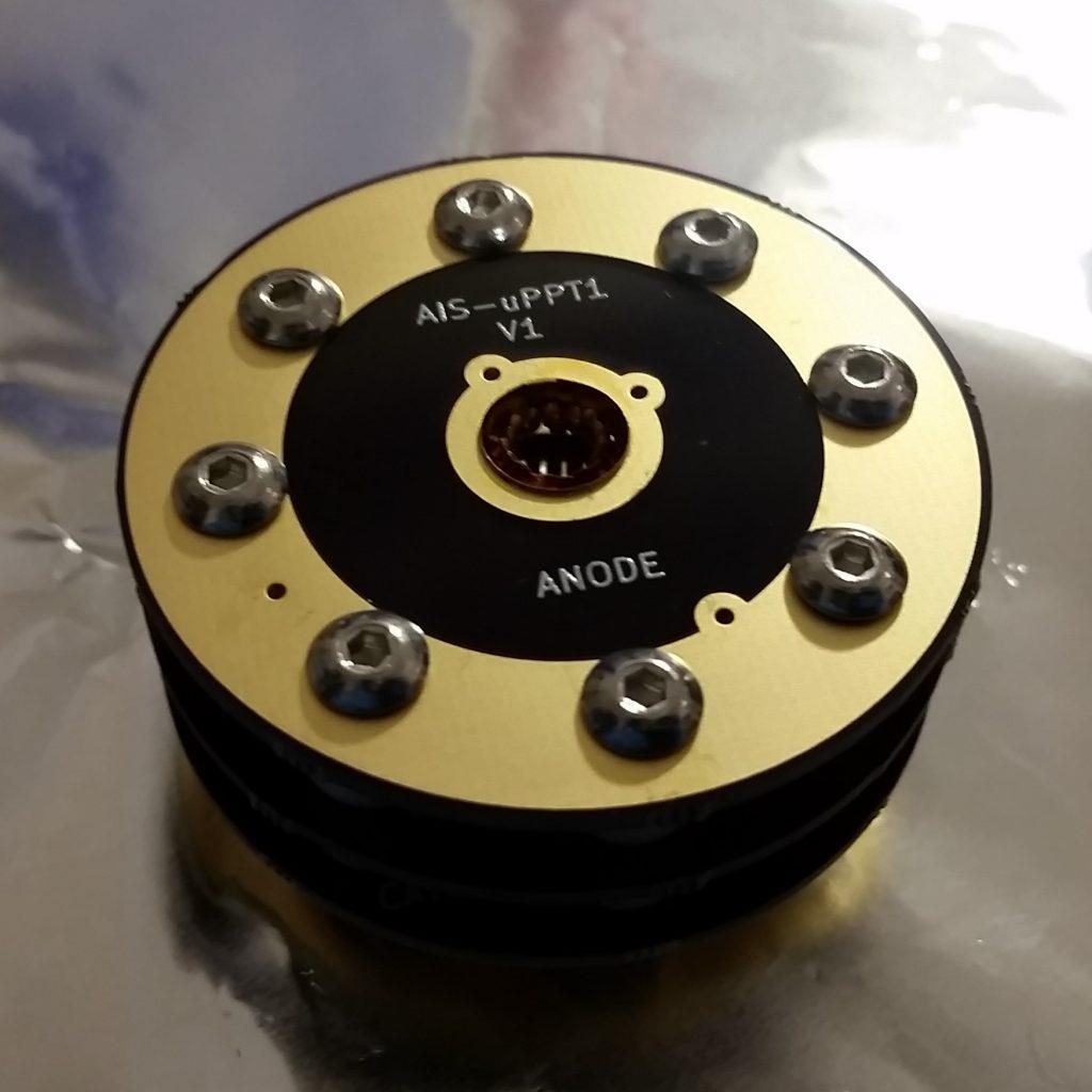 AIS-uPPT1 Micro Pulsed Plasma Thruster Assembly - Thruster Socket Assembly Bottom