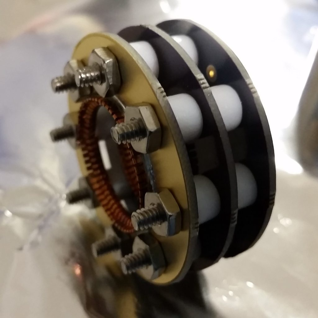 AIS-uPPT1 Micro Pulsed Plasma Thruster Assembly - Thruster Socket Assembly Side