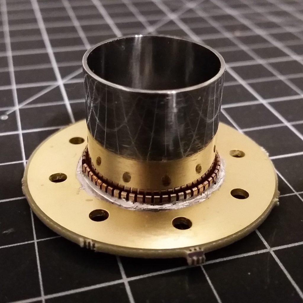 AIS-uPPT1 Micro Pulsed Plasma Thruster Cathode Fit