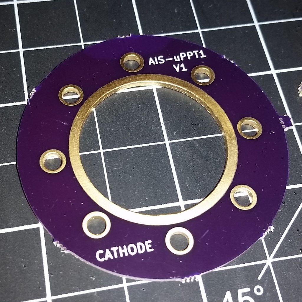 AIS-uPPT1 Micro Pulsed Plasma Thruster Cathode Socket PCB