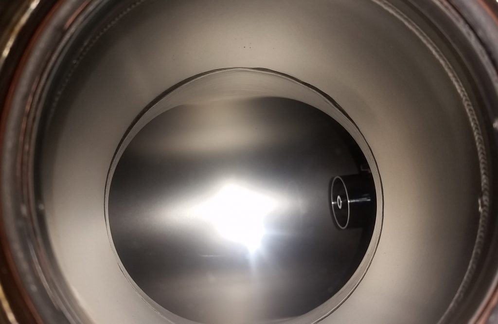 AIS-uPPT1 Pulsed Plasma Thruster Mounted - Viewport View