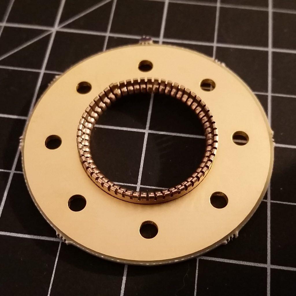Beryllium-Copper Fingerstock Setting