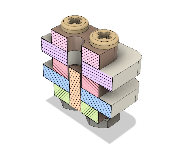 AIS-gPPT2-1C Cross Sectional View Isometric