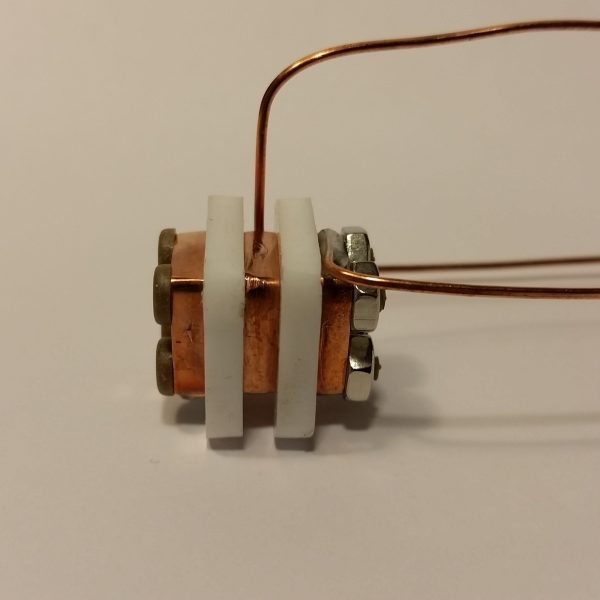AIS-gPPT2-1C Gridded Pulsed Plasma Thruster Single Channel Final Assembly Side