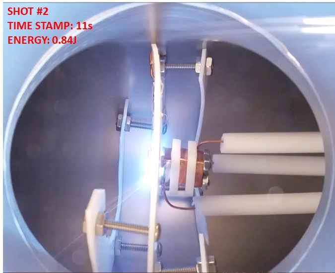 AIS-gPPT2-1C Impulse Bit Test - Shot 2 Plasma