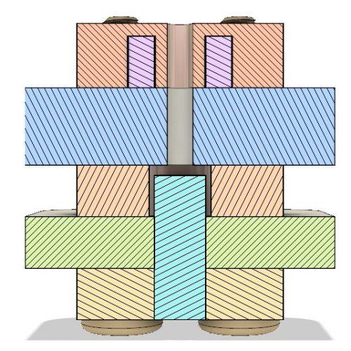 AIS-gPPT3-1C - Cross Sectional View