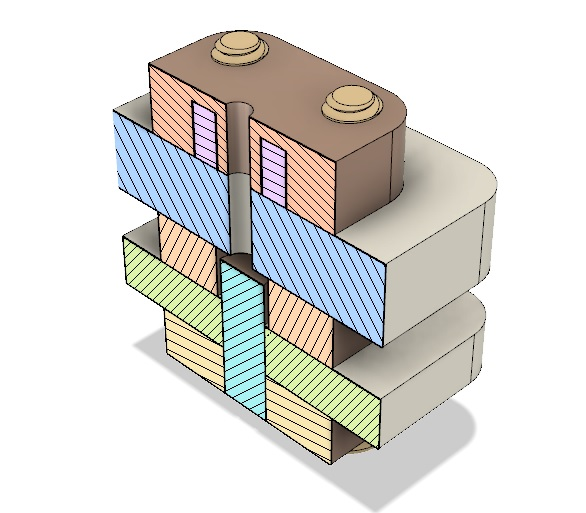 AIS-gPPT3-1C - Cross Sectional View Isometric