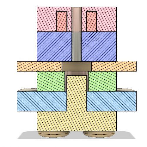 AIS-gPPT3-1C-BT V2 - Cross Sectional View