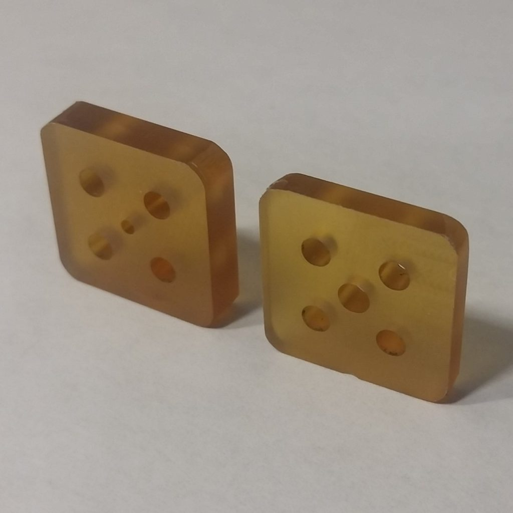 AIS-gPPT3-1C-U Ultem Fuel and Spacer Plates