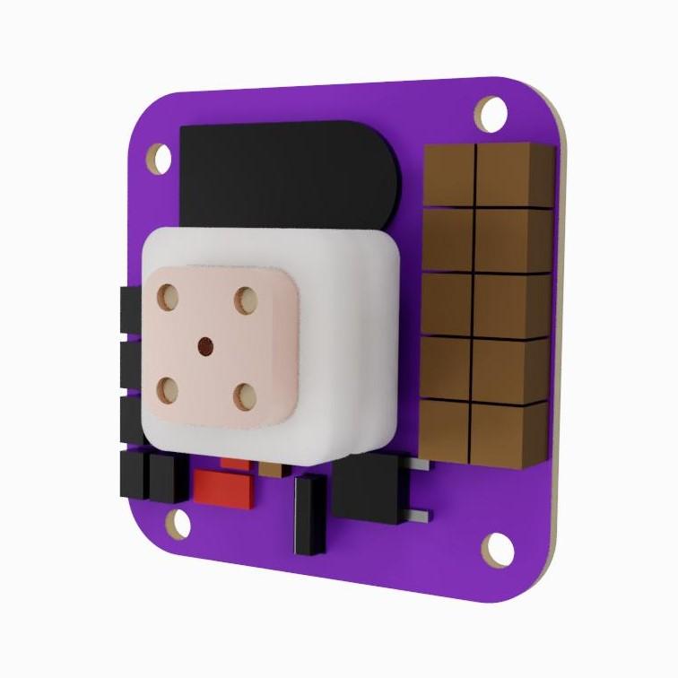 AIS-gPPT3 Series Concept Propulsion Module - Isometric