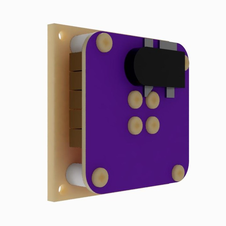 AIS-gPPT3 Series Concept Propulsion Module with Adapter Mounting Plate - Back